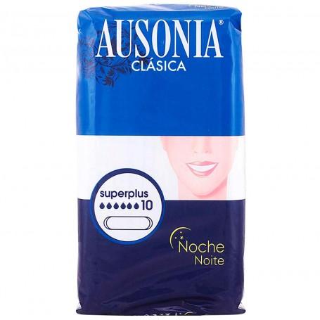 Compresas Ausonia Noche Clásica Superplus sin alas.