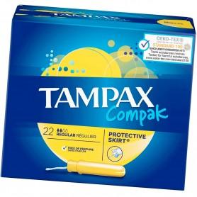 Tampones Tampax Compak Regular
