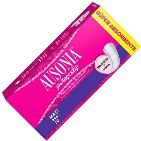 Protegeslips Ausonia Maxi, salvaslips de Ausonia para uso diario.