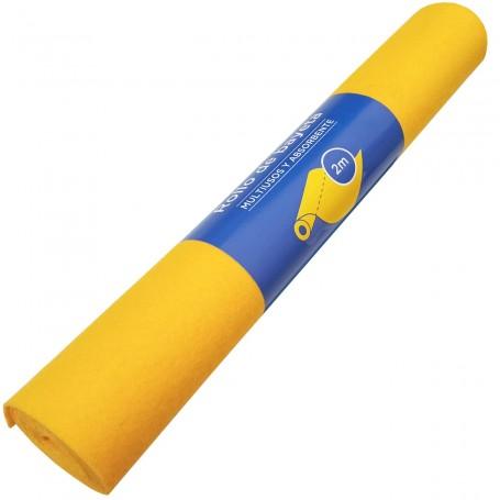 Rollo Bayeta Amarilla Precortada Pla 2 metros