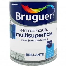 Bruguer Acrylic Brillante Esmalte Multisuperficies Colores, envase 750 ml.
