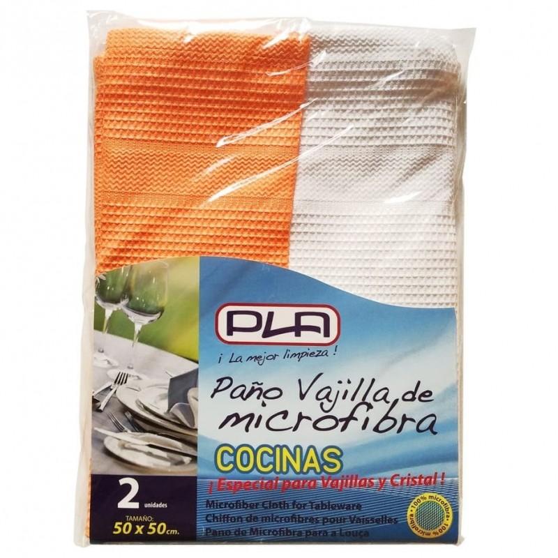 Bayeta Microfibra Pla para Vajilla y Cocina