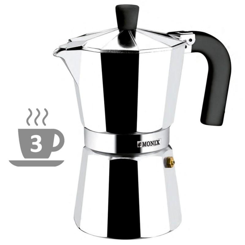 Cafetera Vitro-Expres Aluminio Monix