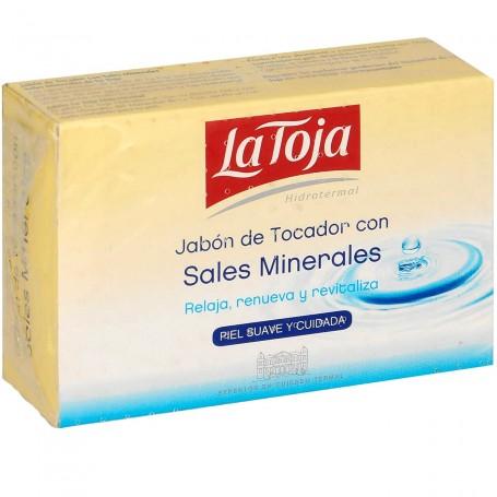Pastilla Jabón de manos La Toja Con Sales Minerales de Agua Termal