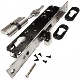 Cerradura LINCE 5570 para puertas de aluminio, Monopunto Palanca Gancho, Serie 5570.