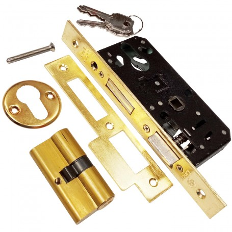 LINCE 5801, cerradura para embutir madera.