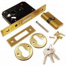 LINCE 5810, Cerradura de embutir para puertas de madera.