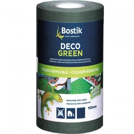 Banda Adhesiva para césped artificial, removible, Deco Green Bostik.