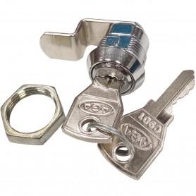 Cerradura de lengüeta Curva para Buzones y Muebles AGA, Mod. C3510 llave mod. 135, marca AGA