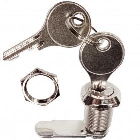 Cerradura Buzón, Handlock BTV 40186, lengüeta recta Ø 16 mm