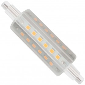 Lámpara LED lineal 360º para focos interior/exterior R7S, Led MATEL