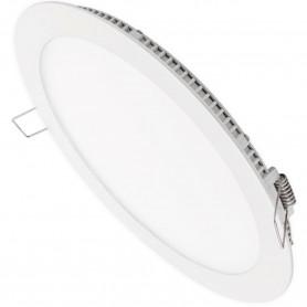 Plafón Empotrar Luz Downlight 24 W Aluminio LED Matel Ø30 cm. Para oficinas, cocinas y baños.