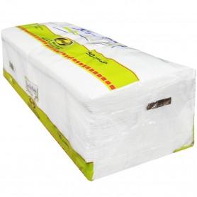 Servilletas Blancas de Papel 150 unidades