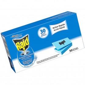 Pastillas recambio antimosquitos para difusor eléctrico RAID