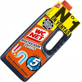 WC Net, Líquido Desatascador Rápido (turbo).
