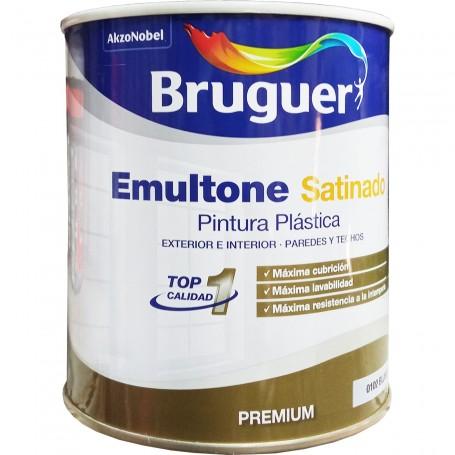Emultone, Pintura Plástica Blanco Mate, Bruguer
