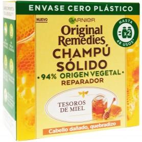 Champú Sólido Miel para el Cabello, Garnier.
