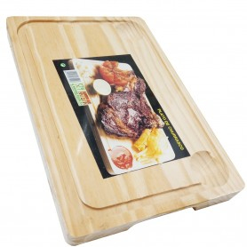 Tabla de madera para Churrasco 30x20 cm