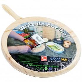 Tabla de Corte Circular para Alimentos
