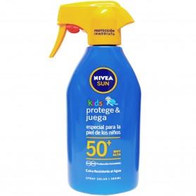 NIVEA Crema Protector Solar Kids SPF 50 Protección Máxima