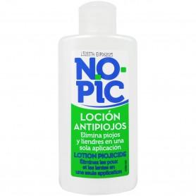 Loción Pediculicida NoPIC para combatir liendres y piojos