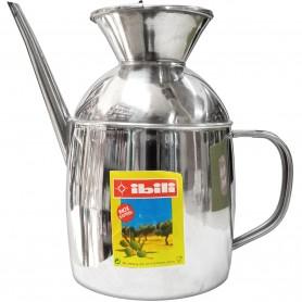 Aceitera de Acero Inox IBILI 1,20 Litros