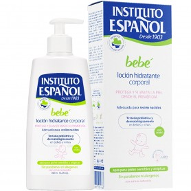 Loción Hidratación Corporal para Bebé Instituto Español
