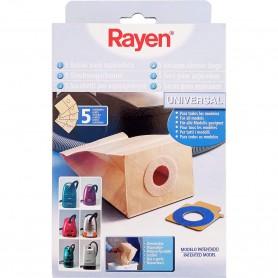 Bolsa Aspiradora Universal Papel Desechable Rayen, para todos los modelos de aspiradoras.