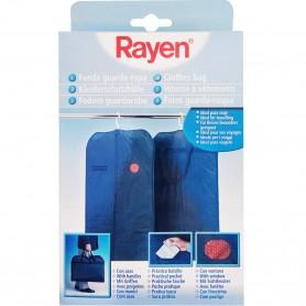 Funda Guarda Ropa para Armario y Viajes Rayen. Funda para chaquetas y camisas. 60x100 cm