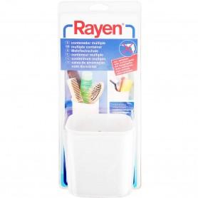 Vaso Contenedor Multisusos para baño cocina Rayen