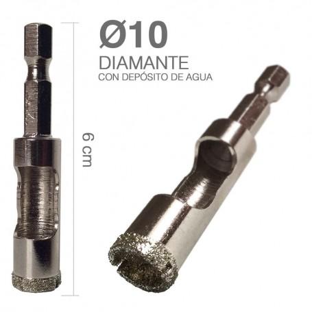 Broca Diamante con Depósito de Agua