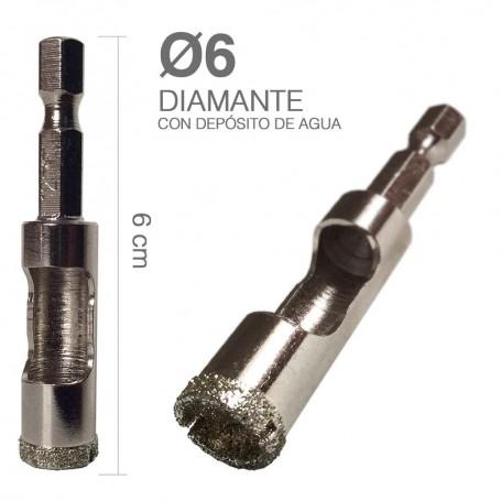 Broca Diamante con Depósito de Agua Alpen