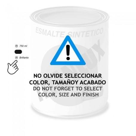 Esmalte Sintético Brillante Titanlux. Blanco o Negro