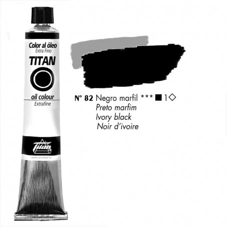 Óleos Titan Extra Finos 60 ml