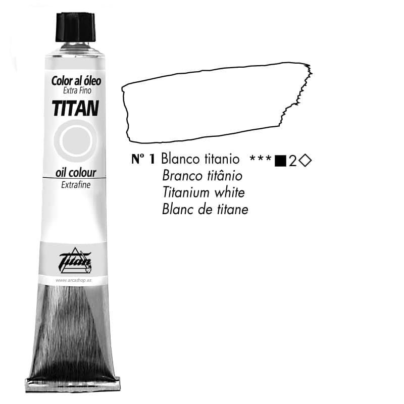 Óleos Titan Extra Finos 200 ml