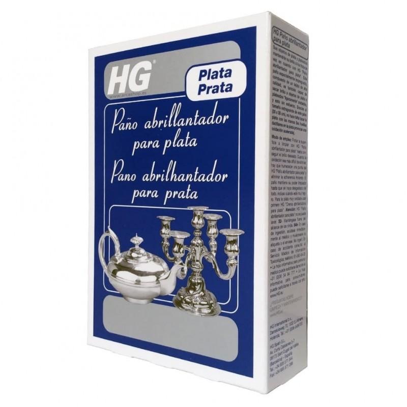 HG Paño abrillantador para plata