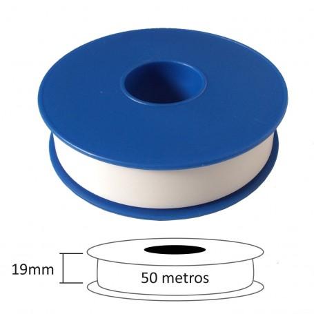 CintaTeflón PTFE Gymcol 19 mm 12 mm fontanería herramientas comprar rosca