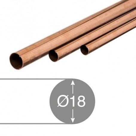 Tubo (tubería) de cobre para soldar instalaciones fontanería agua gas comprar