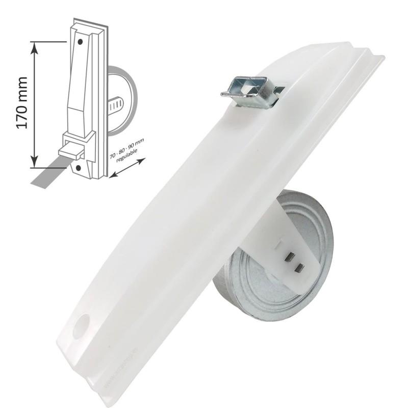 Recogedor Obra Empotrable Plástico PVC para Persiana Lamas