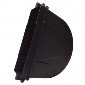 Comprar Caja para Recogedor Persiana lamas de obra Empotrable PVC Negro Ferretería Sevilla