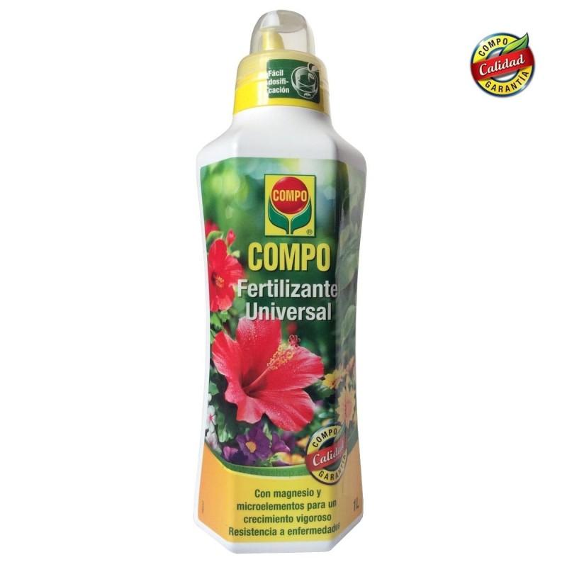 Fertilizante para plantas y jardín Compo Universal