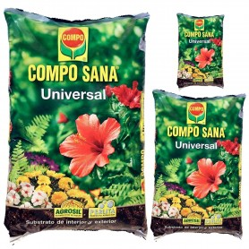 Abono Mantillo Tierra COMPO SANA para plantas y jardín. Comprar el mejor mantillo para mis plantas. Sevilla, Tomares