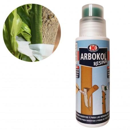 Resina para injertos, heridas y podas Arbokol