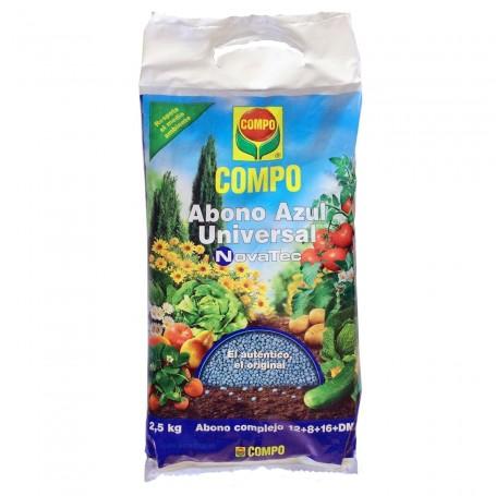 Comprar Abono bolitas azul plantas huerta, arboles frutales, verduras, hortalizas, césped COMPO