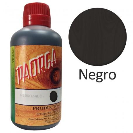 Tinte Negro Hidroalcohólicos para madera Paorga