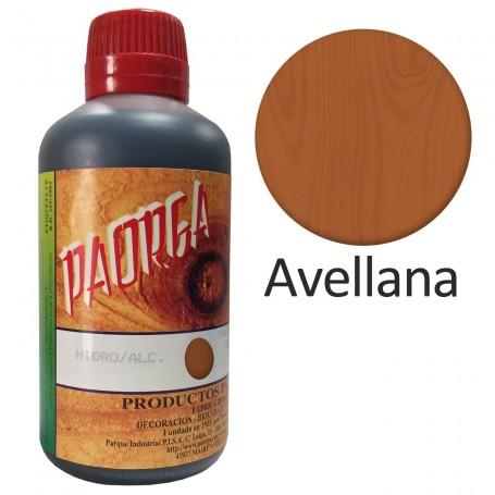 Tinte Paorga Avellana Hidroalcohólicos teñir madera Sevilla