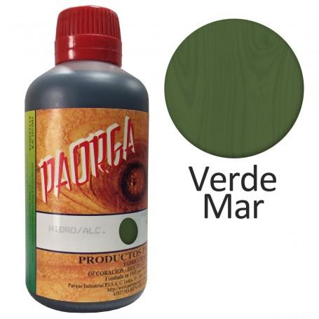 Tinte Verde Mar Paorga . Comprar Tintes Hidroalcohólicos. Tinte al alcohol.  Sevilla
