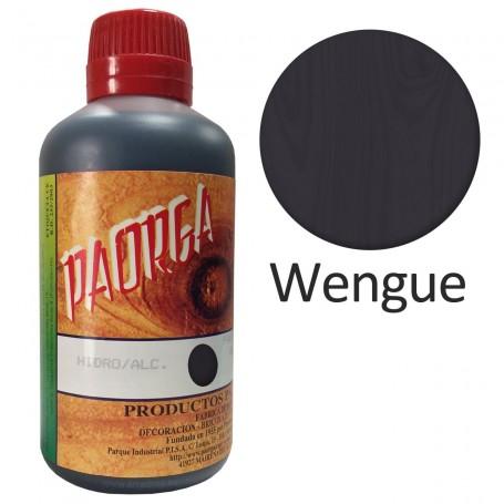 Tinte wengue Paorga. Comprar Tintes Hidroalcohólicos. Tinte al alcohol.  Bricolaje