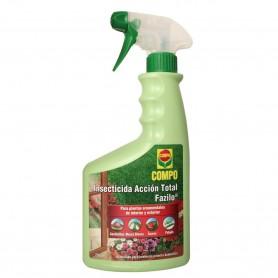 comprar Insecticida Acción Total Fazilo COMPO combatir las plagas de pulgones (Pulgón), ácaros, cochinillas y mosca blanca