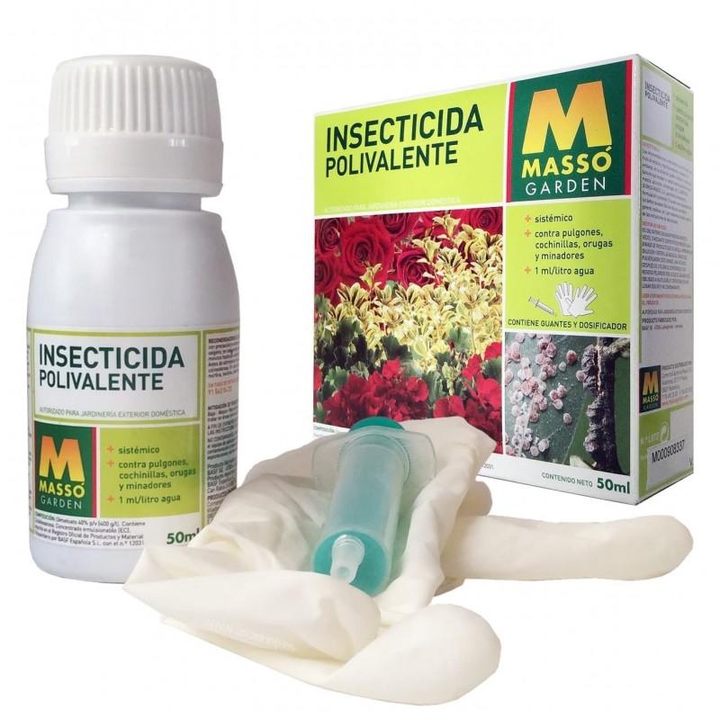 Insecticida sistémico Polivalente Massó Garden